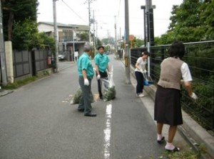 全国環境美化活動に参加しました(2011/6/7)