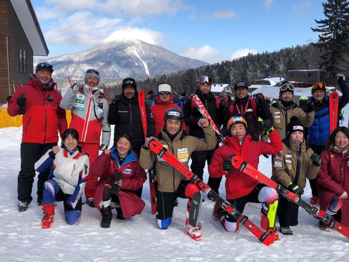 湯浅直樹選手 全日本スキー選手権大会 優勝