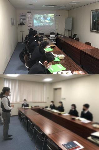 立川第六中学校 校外学習